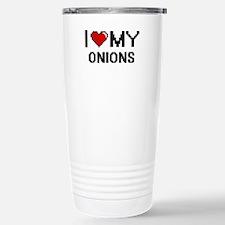 I Love My Onions Digita Travel Mug