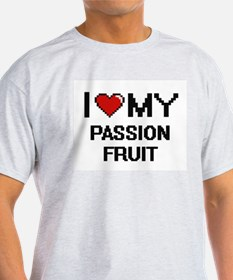 I Love My Passion Fruit Digital design T-Shirt
