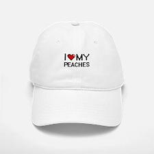 I Love My Peaches Digital design Baseball Baseball Cap