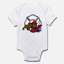 FIRE BULL DOG Infant Bodysuit