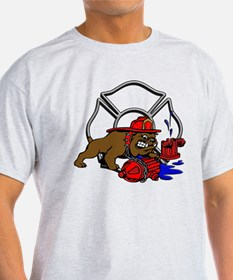 FIRE BULL DOG T-Shirt