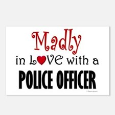 Madly In Love (Police Officer) Postcards (Package