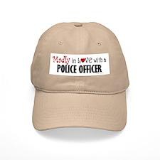 Madly In Love (Police Officer) Baseball Cap