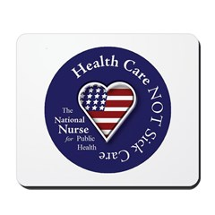 NN Patriotic Heart Mousepad