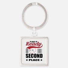 Get Ready for Second Place Keychains