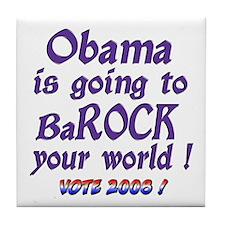 BaRock Your World Tile Coaster