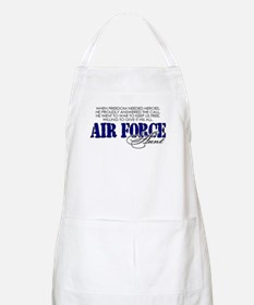When freedom needed heroes: USAF Aunt BBQ Apron