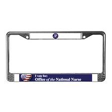 NN Patriotic Heart License Plate Frame