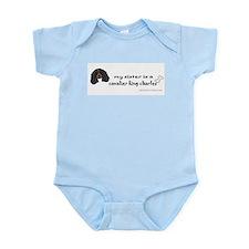 Big sister infant Infant Bodysuit