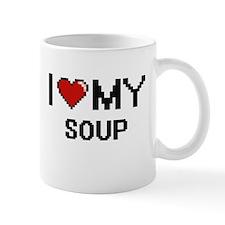 I Love My Soup Digital design Mugs