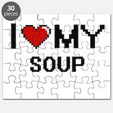 I Love My Soup Digital design Puzzle