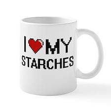 I Love My Starches Digital design Mugs