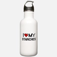I Love My Starches Dig Water Bottle