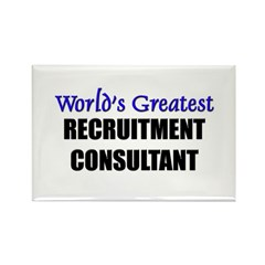 Worlds Greatest RECRUITMENT CONSULTANT Rectangle M