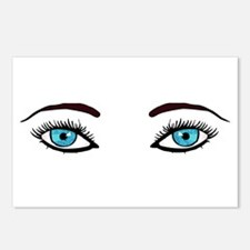 Blue Eyes Postcards (Package of 8)