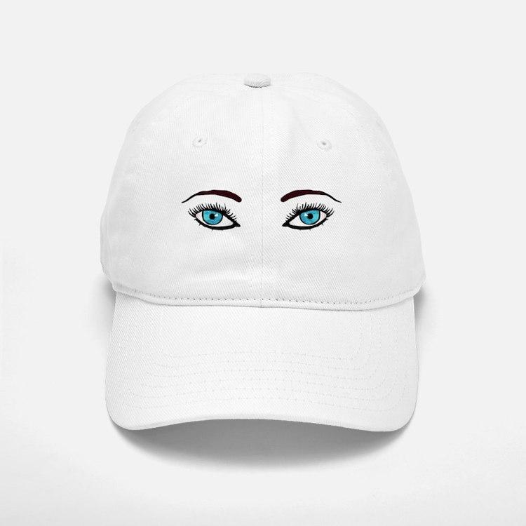 Blue Eyes Baseball Baseball Cap