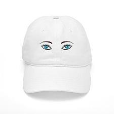 Blue Eyes Baseball Cap