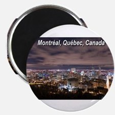 "Montreal by night 2.25"" Magnet (10 pack)"