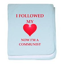 communist baby blanket