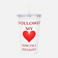 socialist Acrylic Double-wall Tumbler