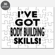 Body Building Skills Designs Puzzle