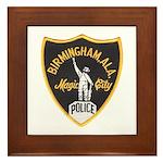 Birmingham Police Framed Tile