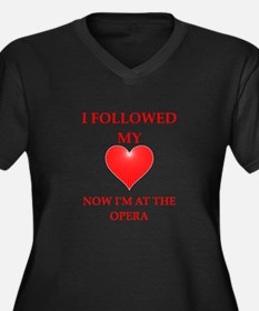 opera Plus Size T-Shirt