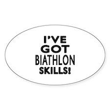 Biathlon Skills Designs Decal