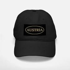 Austria Gold Trim Baseball Hat
