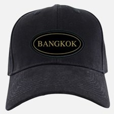 Bangkok Gold Trim Baseball Hat