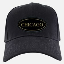 Chicago Gold Trim Baseball Hat