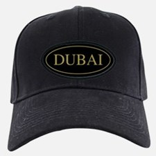 Dubai Gold Trim Baseball Hat