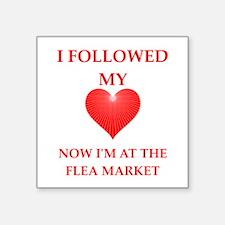 flea market Sticker