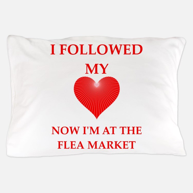 flea market Pillow Case