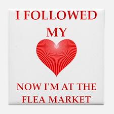 flea market Tile Coaster