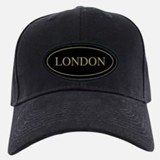 London Gold Trim Baseball Hat