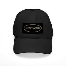 New York Gold Trim Baseball Hat