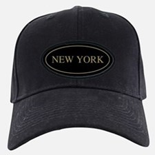 New York Gold Trim Baseball Hat