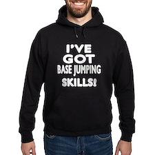 Base Jumping Skills Designs Hoodie