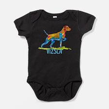 Unique Vizsla Baby Bodysuit