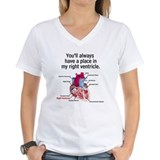 Medical Womens V-Neck T-shirts