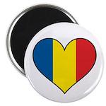 Romanian Heart Magnet