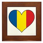 Romanian Heart Framed Tile