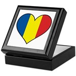 Romanian Heart Keepsake Box
