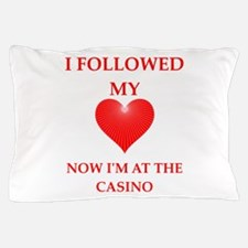 casino Pillow Case