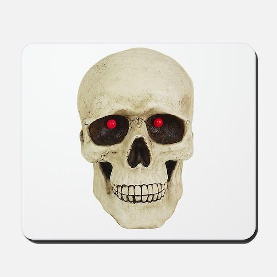 3D Surreal Skull Mousepad