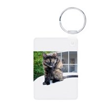 callie the cat Keychains