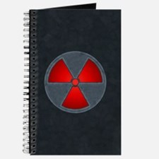 Red Radiation Symbol Journal