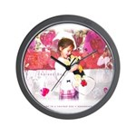 Open Your Heart to a Chained  Wall Clock