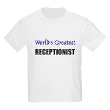 Worlds Greatest RECEPTIONIST T-Shirt
